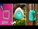 DIY CHEAP AND EASY DIY JEWELRY IDEAS 5 Resin Accessories FAIRY PENDANTS MADE OUT OF AN EPOXY RESIN