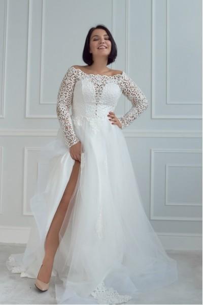 Свадебное платье для полных невест Московская область