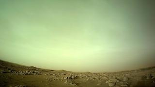 """КосмоСториз: Панорама, облачный покров и ночное небо Марса (Марсоход """"Perseverance"""")"""