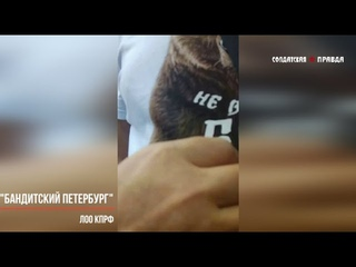 """""""БАНДИТСКИЙ ПЕТЕРБУРГ"""" Беспредел на Ленинградской областной конференции КПРФ"""