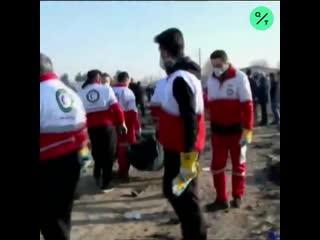 Пассажирский самолет Boeing 737 авиакомпании Украинские авиалинии разбился под Тегераном