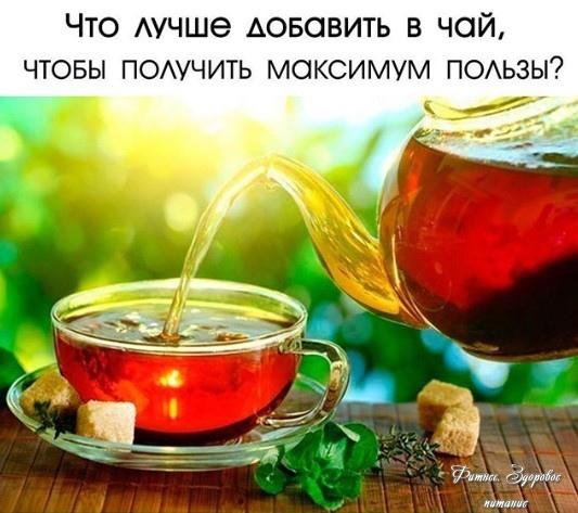 Чтo лучшe дoбaвить в чaй, чтoбы пoлучить мaкcимум пoльзы и нacлaдитьcя eгo apoмaтoм