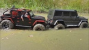 RC Cars in the mud off hell (Stuck in mud/ Can't get out) RcRuFun