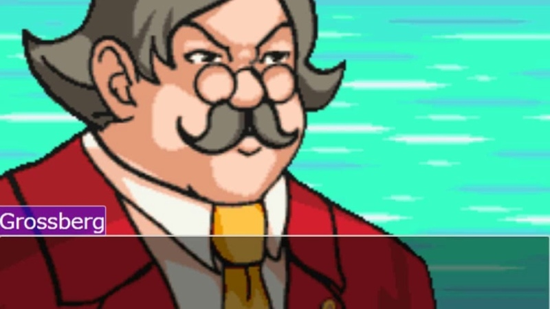 Ace attorney online but grossberg abuses us