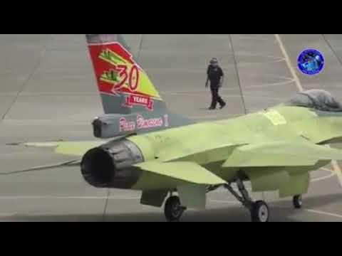 Первый полет модернизированного истребителя F-16АВ Block 15OCU ВВС Индонезии