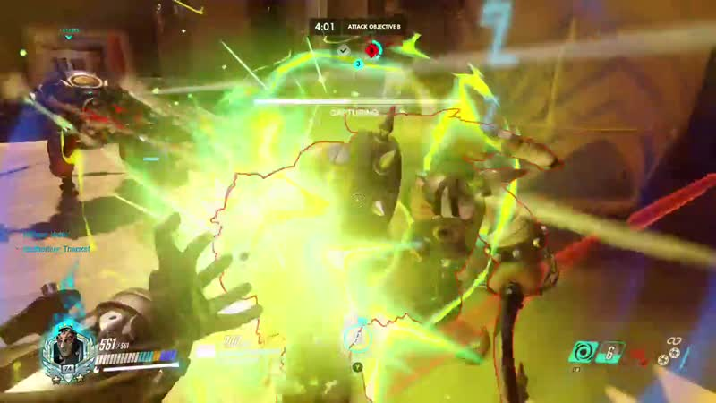 Overwatch Nice bomb it would be a shame if it wasn't potg