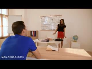 Russian sex teacher liya silver fucks a massive dick in class liya silver, kai taylor