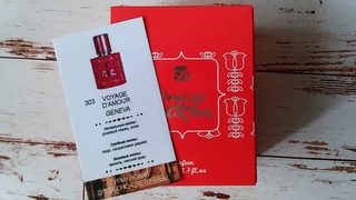 Отзыв на духи женские аромат №303 Женева коллекция Вояж де Амур от компании Армель