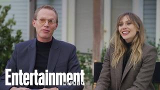 "Elizabeth Olsen & Paul Bettany Say 'WandaVision' Is ""Unlike Anything Else""   Entertainment Weekly"