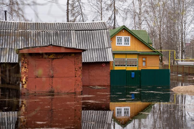 Паводок в Ухте: уровень воды понизился, изображение №3