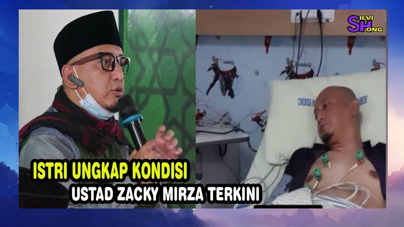 Istri Ungkap Kondisi Ustad Zacky Mirza Terkini