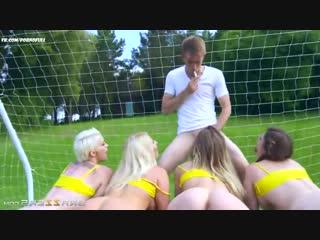 Brazzers: tamara grace & lucia love &  michelle thorne &  mila milan & danny d - group sex (porno,orgy,full)