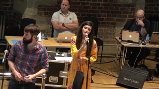 Angelina Jordan - Fly Me To The Moon - Quincy Jones - 2018 (rehearsal video/best concert sound)