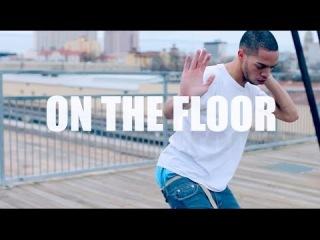 IceJJFish - On The Floor (Official Music Video)