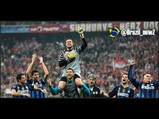 Legendary save by Julio Cesar Vs Messi Gives Inter qualify on Barcelona in Champions League