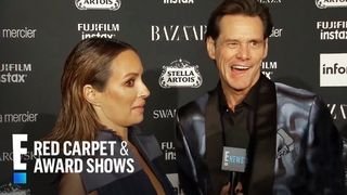 Jim Carrey Sounds Off on Icons and More at NYFW 2017 | E! Red Carpet & Award Shows