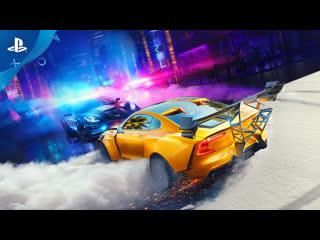 Need for speed heat | анонсирующий трейлер | ps4
