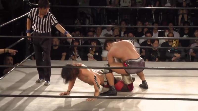 Akito BxB Hulk Yoshitomo Shimohigashi vs AKIRA Jun Kasai Manabu Soya Tokyo Gurentai Tokyo Carnival 2018