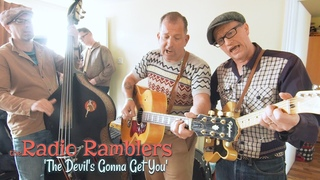 'The Devil's Gonna Get You' RADIO RAMBLERS (Rockabilly Rave) BOPFLIX sessions