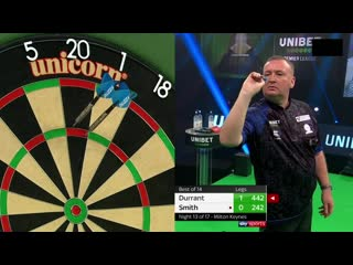 Glen Durrant vs Michael Smith (PDC Premier League Darts 2020 / Week 13)