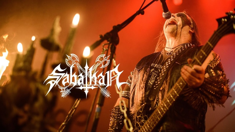 Sabathan Scared by Darkwinds live in Brussels 6 03 2019 Black Metal Italy Norway