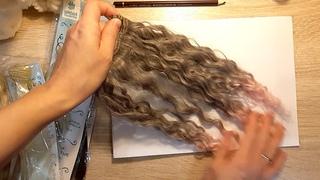 Из чего можно сделать волосы для куклы