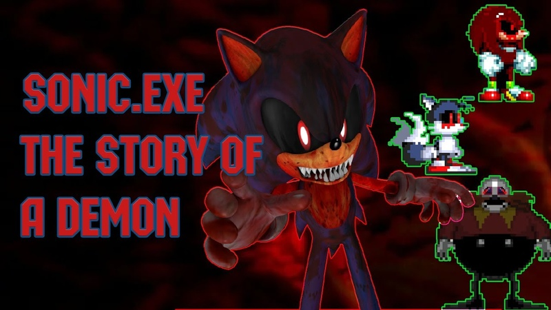 Sonic.exe Story of a demon - 2-nd trailer