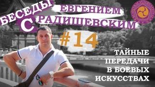 Беседы с Евгением Радишевским. #14 - Тайные передачи в боевых искусствах.