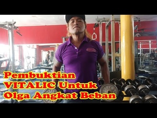 ALANKRIBO- Review & Buktikan Vitalic Tambah Tenaga Untuk Gym