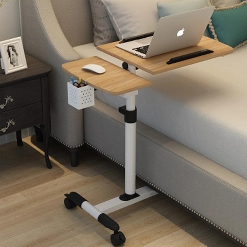 Прикроватный складной стол на колсиках -