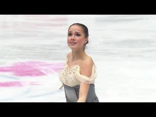 Алина Загитова заняла первое место по итогам короткой программы на Чемпионате мира по фигурному катанию