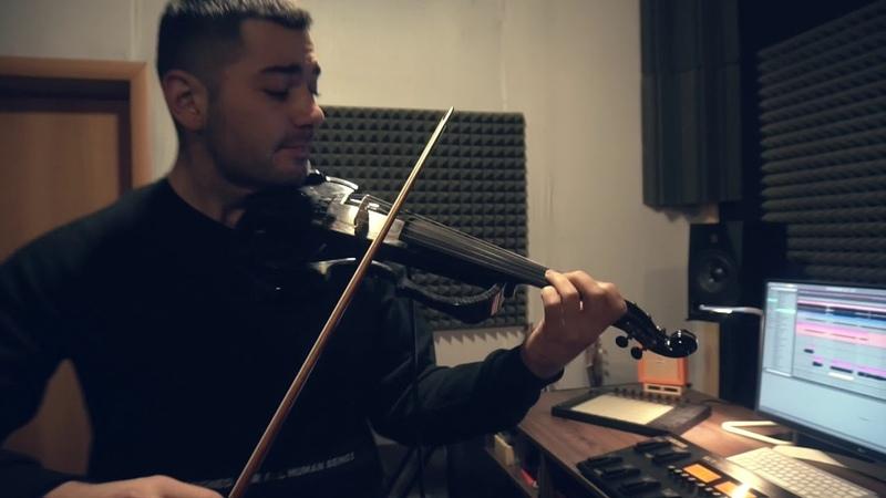 BooM Energy of Electric violin Tiesto Grapevine Filtered Tools electirc violin cover