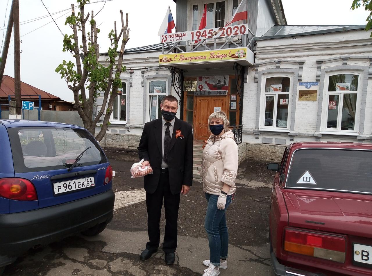 В Петровске в преддверии Дня Победы состоялась патриотическая акция «Георгиевская ленточка»