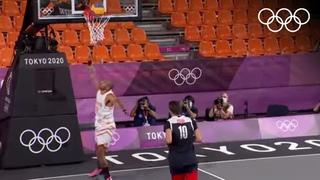 Баскетбол 3х3: женская и мужская сборные ОКР в полуфинале Олимпиады