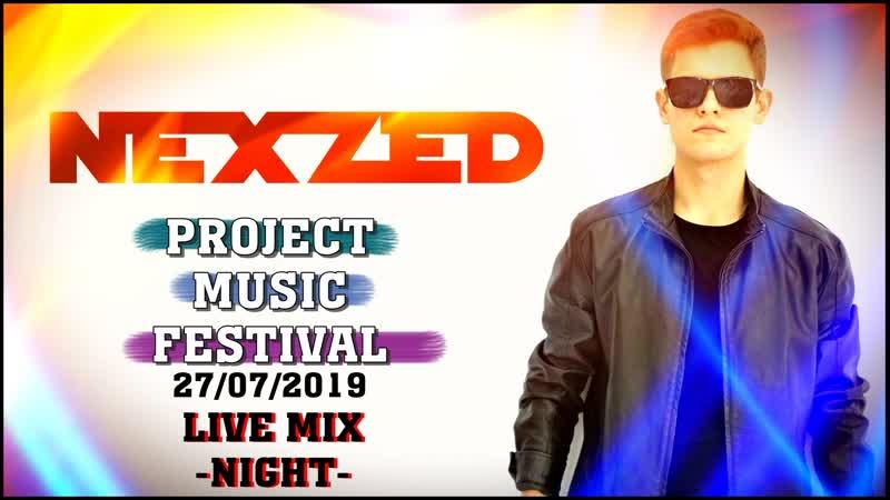 NEXZED PMF Visual Mix NIGHT @ VS park Заячья гора 27 07 2019