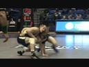 WEST REG: Justin Gaethje (UNC) dec. Brett Robbins (UNI), 149 lbs. True Second