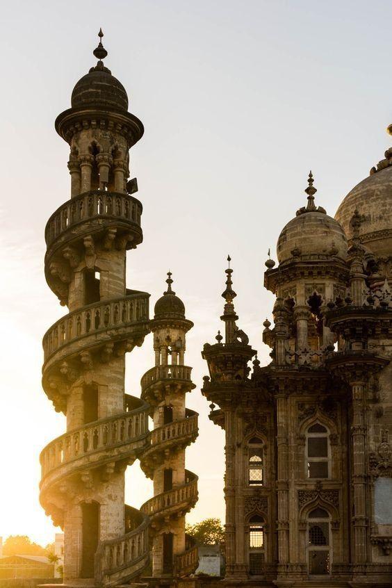 Дворец Мохаббата Макбара в Джунагадхе, Гуджарат, Индия