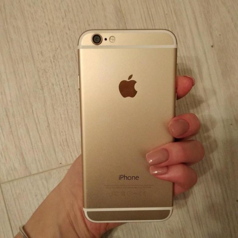 Купить iPhone 6 на 64 гигов. В золотом цвете.   Объявления Орска и Новотроицка №6849