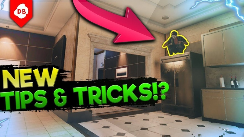 NEW Hiding Spots Pro Angles Rainbow Six : Siege Tips and Tricks