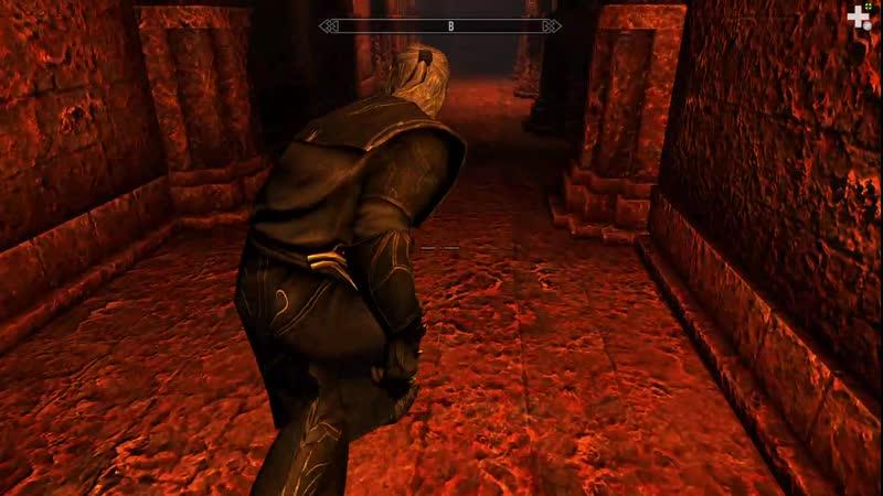 11 Лич Мериальмо играет в Дозорного Стендарра и бесит Молага Темные коридоры пустые комнаты и подозрительное шаркание