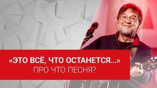 Настоящий смысл песни «Это всё», ДДТ + комментарий Шевчука 16+