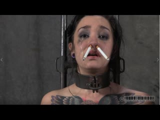 Real Time Bondage - Juliette Black humiliation of a smoking whore