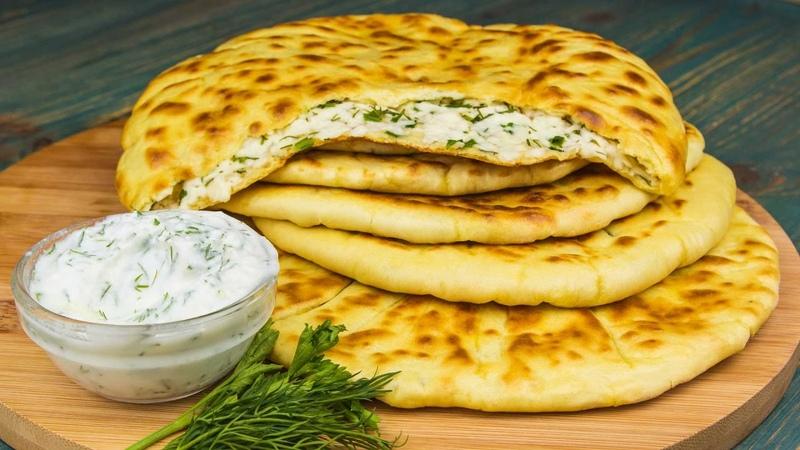 Хычины с сыром и зеленью Рецепты от Со Вкусом