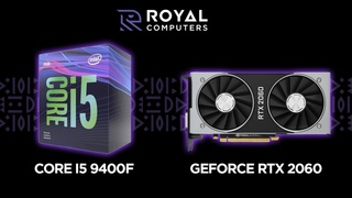 Core i5 9400F / GeForce RTX 2060 (Benchmark and Game Test)