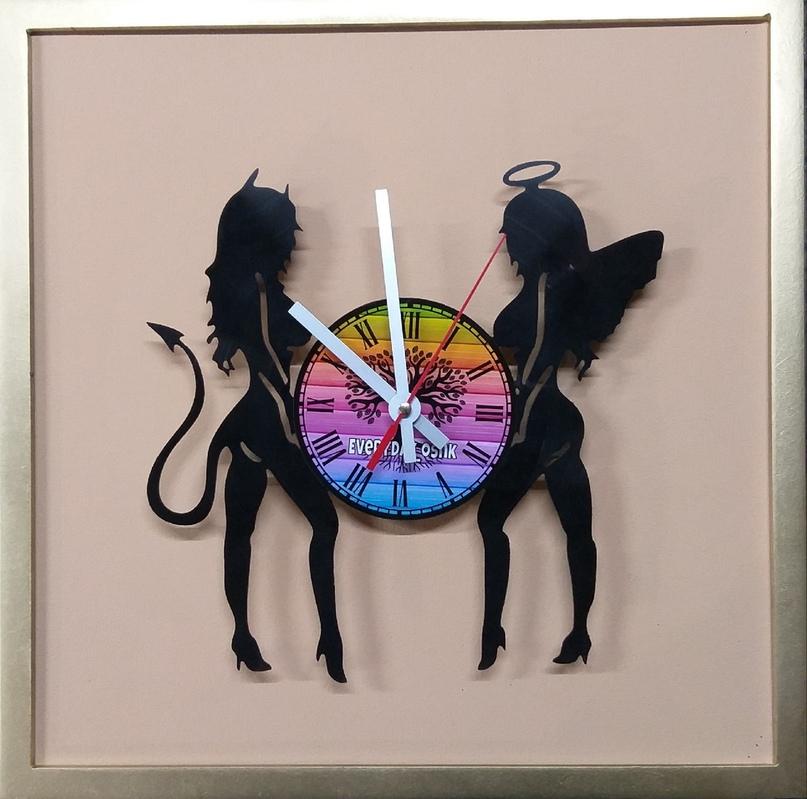 Эволюция изготовления часов и других изделий из виниловых пластинок, изображение №32