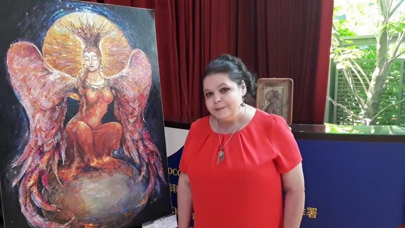 Ассамблея искусств в Китае Коллажная живопись Арины Нефедовой Интервью с художником