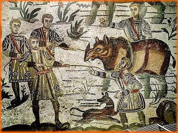 Римляне в Центральной Африке