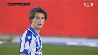 Facundo Pellistri vs Osasuna  | Man United Loan Watch