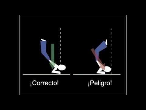 Metodo de instruccion para la caida de hoja desde Ikkyo en Aikido