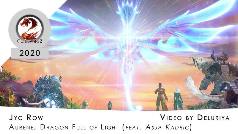 [GuildWars 2 Tribute] Jyc Row - Aurene, Dragon Full of Light (feat. Asja Kadric) [Video by Deluriya]